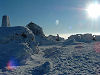 Ben Nevis Summit in January